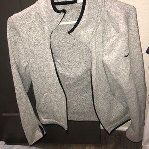 Nike light sweater jacket